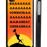Lion King Theme Song iPhone 4s Case - Lion King iPhone 4 Case
