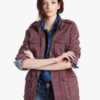 Lucky Brand Military Jacket Womens