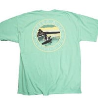 Waters Bluff Stand Up Short Sleeve Tee- Island Reef