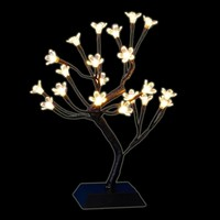 SheilaShrubs.com: Cherry Blossom Tree with LED Warm White Lights D24 1238264W1X by Decra Lite Ltd: Christmas Indoor Decor