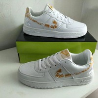 Nike Air Force 1 Men Sport Casual Fashion Multicolor Low Help Plate Shoes Sneakers-1