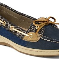 Sperry Top-Sider Angelfish Fishscale Slip-On Boat Shoe Navy, Size 11M  Women's Shoes