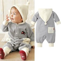 Baby clothing newborn baby supplies baby Siamese clothes for baby boy Romper