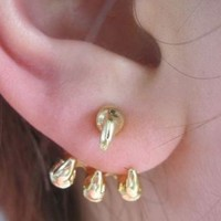 Eagle's Claw Wrapping Ear Cuffs