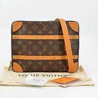 Louis Vuitton LV Classic Women Men Leather Shoulder Bag Crossbody Satchel