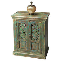 One Kings Lane - A Fashionable Foyer - Miles Storage Cabinet
