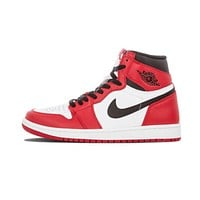Nike Air Jordan 1 Retro High OG Chicago Breathable Basketball Shoes Sports Sneakers Trainers 575441-101