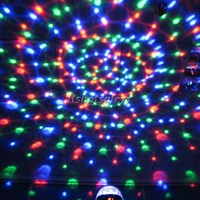 DMX512 RGB LED Crystal Magic Ball Effect Light Disco DJ Stage Wholesale ItS7