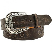 Nocona Women's Scroll Large Round Concho Belt - Sheplers