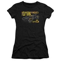 Women's Batman Vs Superman/Mobil Dark Knight Sheer Short Sleeve