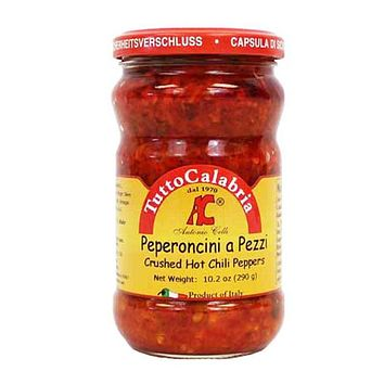 Tutto Calabria Calabrian Crushed Hot Chili Peppers, 10.2 oz (290 g)