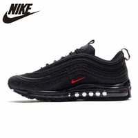 "Nike Air Max 97 ""Reflective Logo"" Running Shoes for Men and Women AR4259-001"