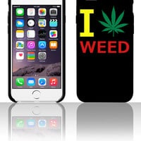 i love weed 5 5s 6 6plus phone cases