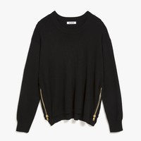 Conrad Zip Detail Sweater