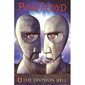 Pink Floyd Division Bell Poster 24x36