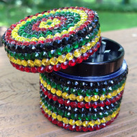 GRINDER -- MINIS Collection -- Rasta Stripes