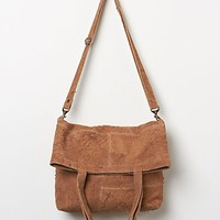 Free People Womens Aged Suede Tote