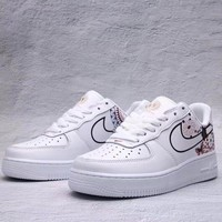Nike Air Force 1 Woman Men Fashion Running Sneakers Sport Shoes