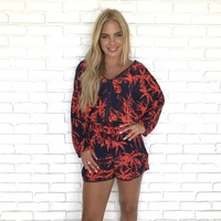 Committed To You Palm Romper