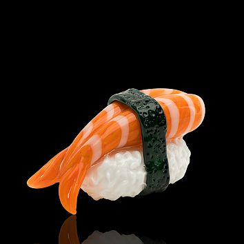 Empire Glass Shrimp Nigiri Glass Pipe