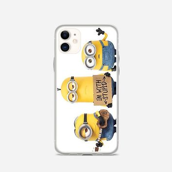 Minions Say Nobody Move iPhone 11 Case