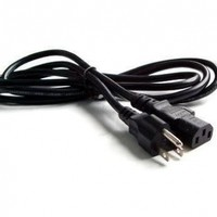Cord Cable Plug for Tv LCD Dlp Led Monitor Screen, Ac Power,Xbox 360,Ps3, (12ft)
