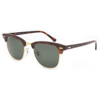 Ray-Ban Clubmaster Sunglasses Tortoise/Arista One Size For Men 21711940101