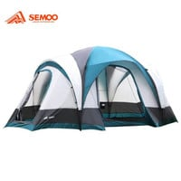 Semoo 7-Person 3-Room Family Tent