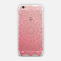 Pink Night Mandala iPhone Case