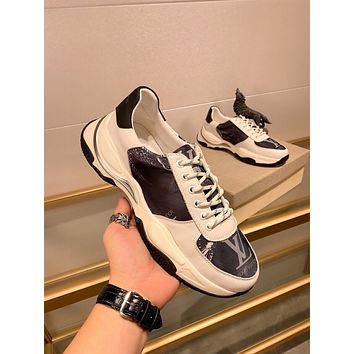 lv louis vuitton womans mens 2020 new fashion casual shoes sneaker sport running shoes 371
