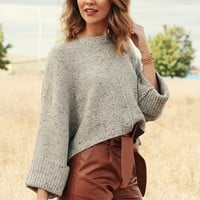 Kiki Kinda Love Knitted Sweater (Taupe/Multi)