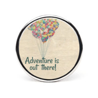 Adventure Is Out There Round Ring - Round Custom Rings