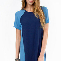 Colorblock And Rock Shift Dress $35