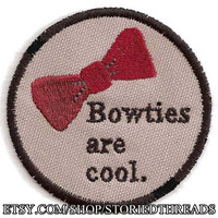 Bowties are Cool Patch