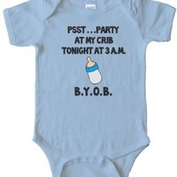 PSST... PARTY AT MY CRIB TONIGHT - 3AM - BYOB - BABY Onesuit