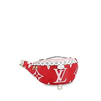 Louis Vuitton Giant Monogram Bumbag M44575 Rouge