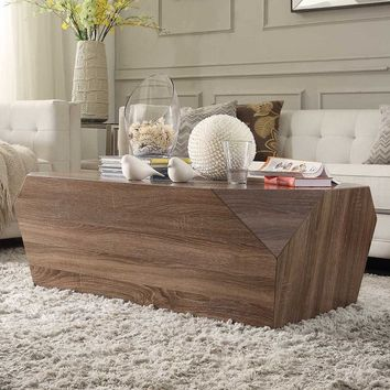 Hatteras Irregular Modern Woodblock Occasional Table | Overstock.com Shopping - The Best Deals on Coffee, Sofa & End Tables