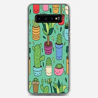 Patio Pattern Cactus Love Samsung Galaxy S10 Plus Case