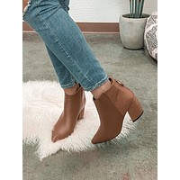 Go Off Booties (Mocha)