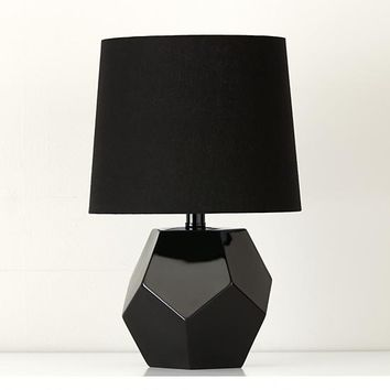 Between a Rock and a Lamp Base (Black)