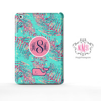 Strafruit Lush Lilly Pulitzer and Vineyard Vines Monogram iPad Air Case, iPad Mini Case