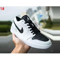 NIKE Air Jordan 1 Low AJ1 Popular Men Casual Sport Running Shoes Sneakers 1#