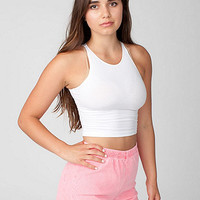 Rigid Corduroy High-Waist Short