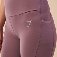 Gymshark Aspire Leggings - Purple Wash