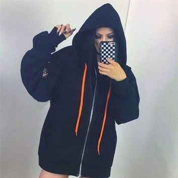 Hoodies Winter Long Sleeve Hats Jacket [1914362331190]