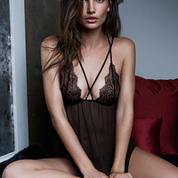 Chantilly Lace & Mesh Babydoll - Very Sexy - Victoria's Secret