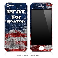 Pray For Boston V2 iPhone Skin