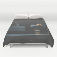 Dateless Duvet Cover by HappyMelvin