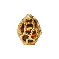 Pre-owned Vintage Trifari Caged Ring