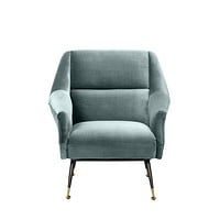 Turquoise Upholstered Armchair | Eichholtz Exile